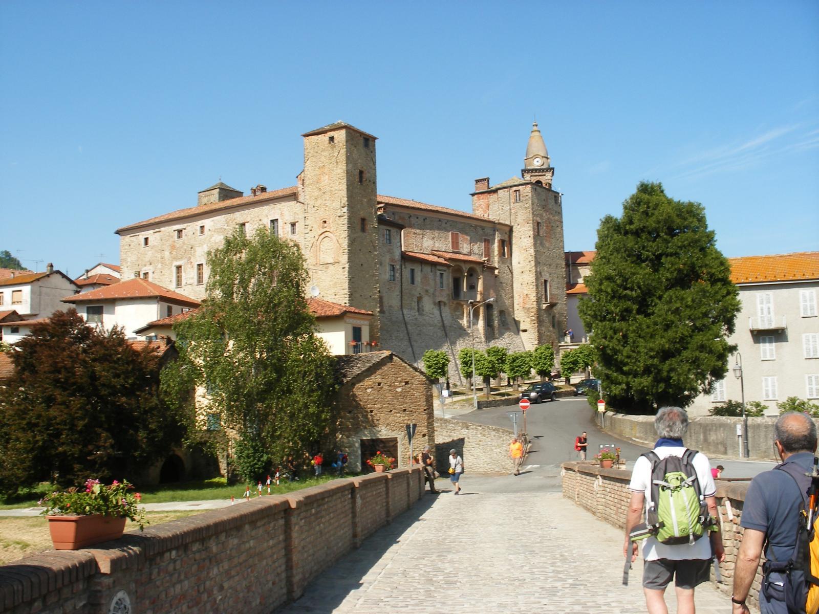 l'arrivo a Monastero