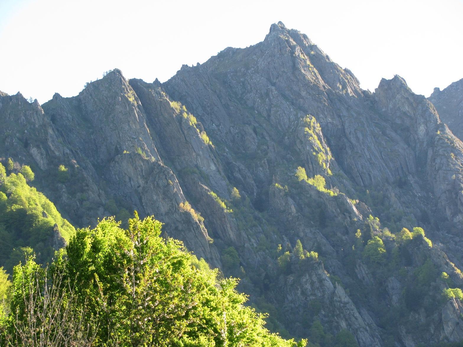 Da Tiglietto, Zoom sulle gheule (gole) della Punta delle Gheule