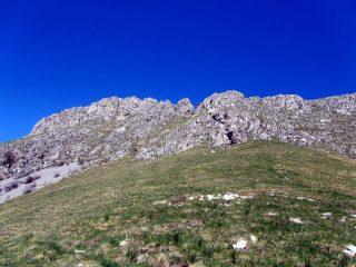 Monte Toraggio dal Passo Dragurina