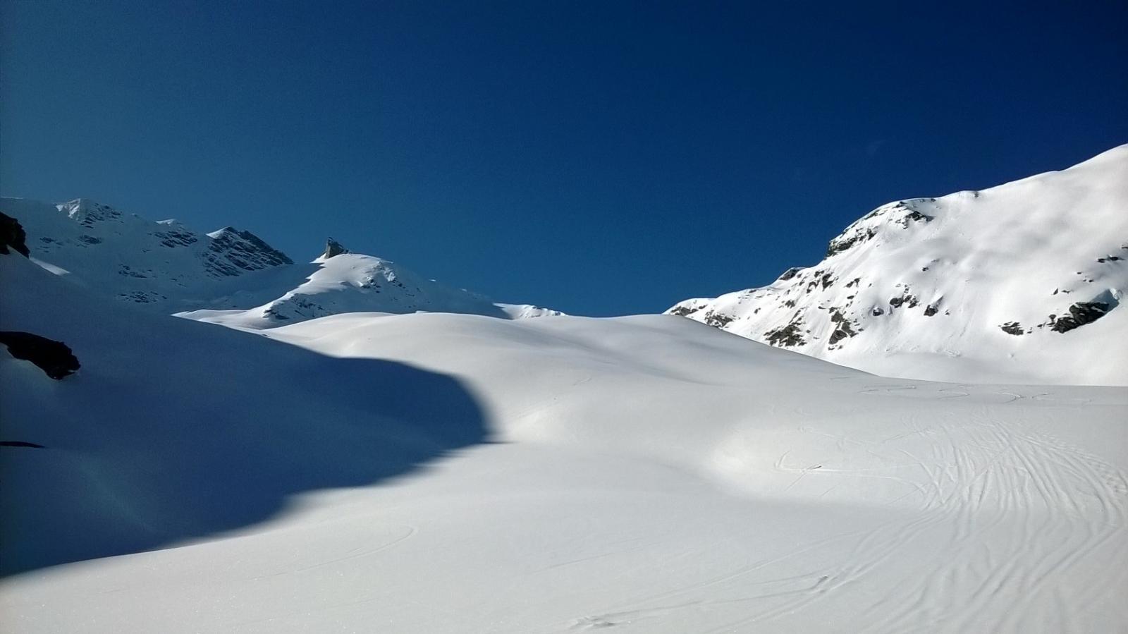 Innevamento dagli alpeggi Forciaz