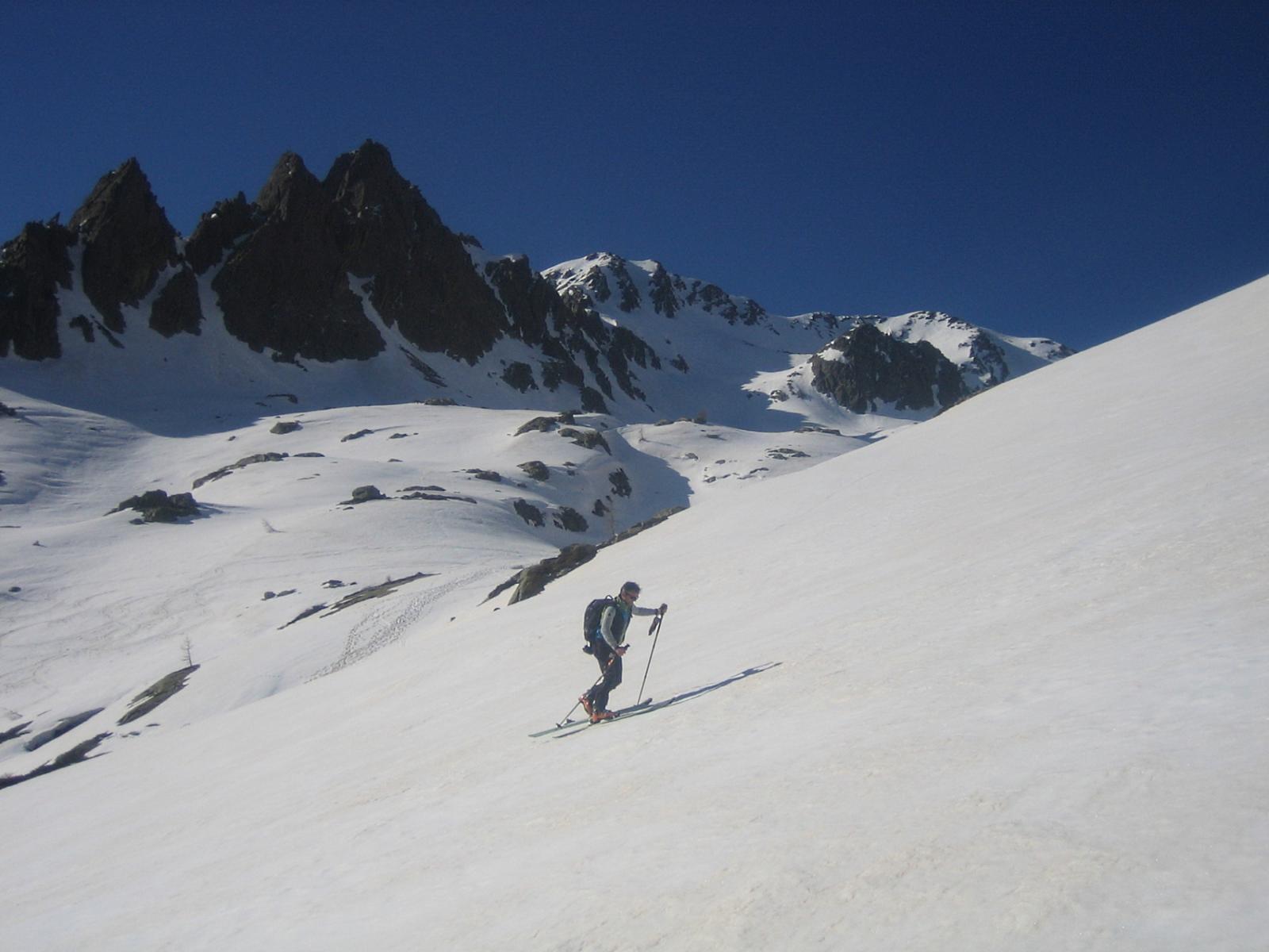 ambiente molto bello e una serie di dossi ideali per lo sci