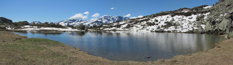 Lago di Sagnasse Superiore m. 2083