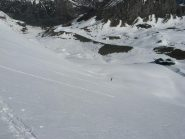 salita sul ghiacciaio Barmaverain