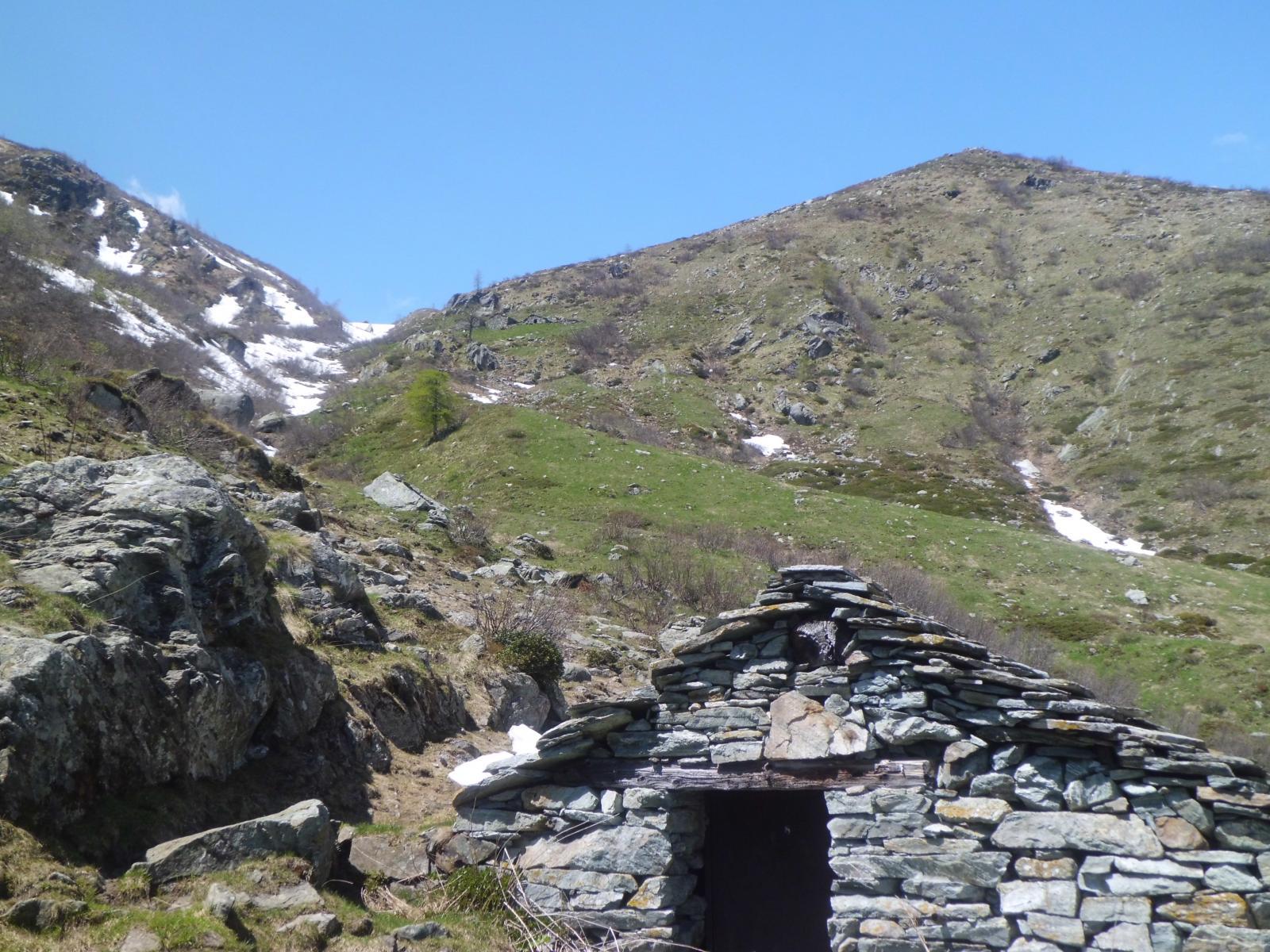 Colle e Testa di Missirola dall' Alpe Colli