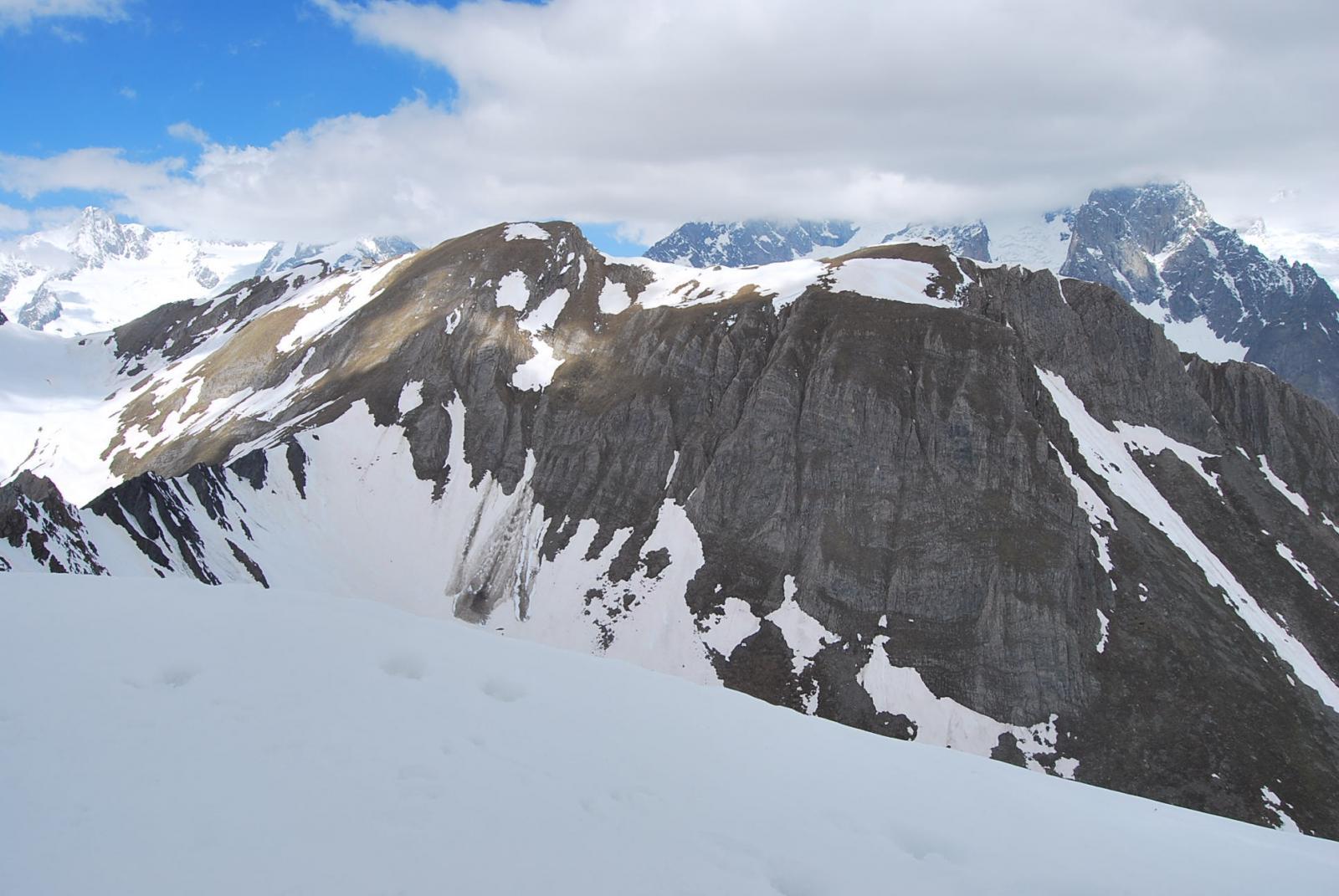 Il Colle e la Testa d'Arp, il Colle di Youlaz e …. il Monte Bianco