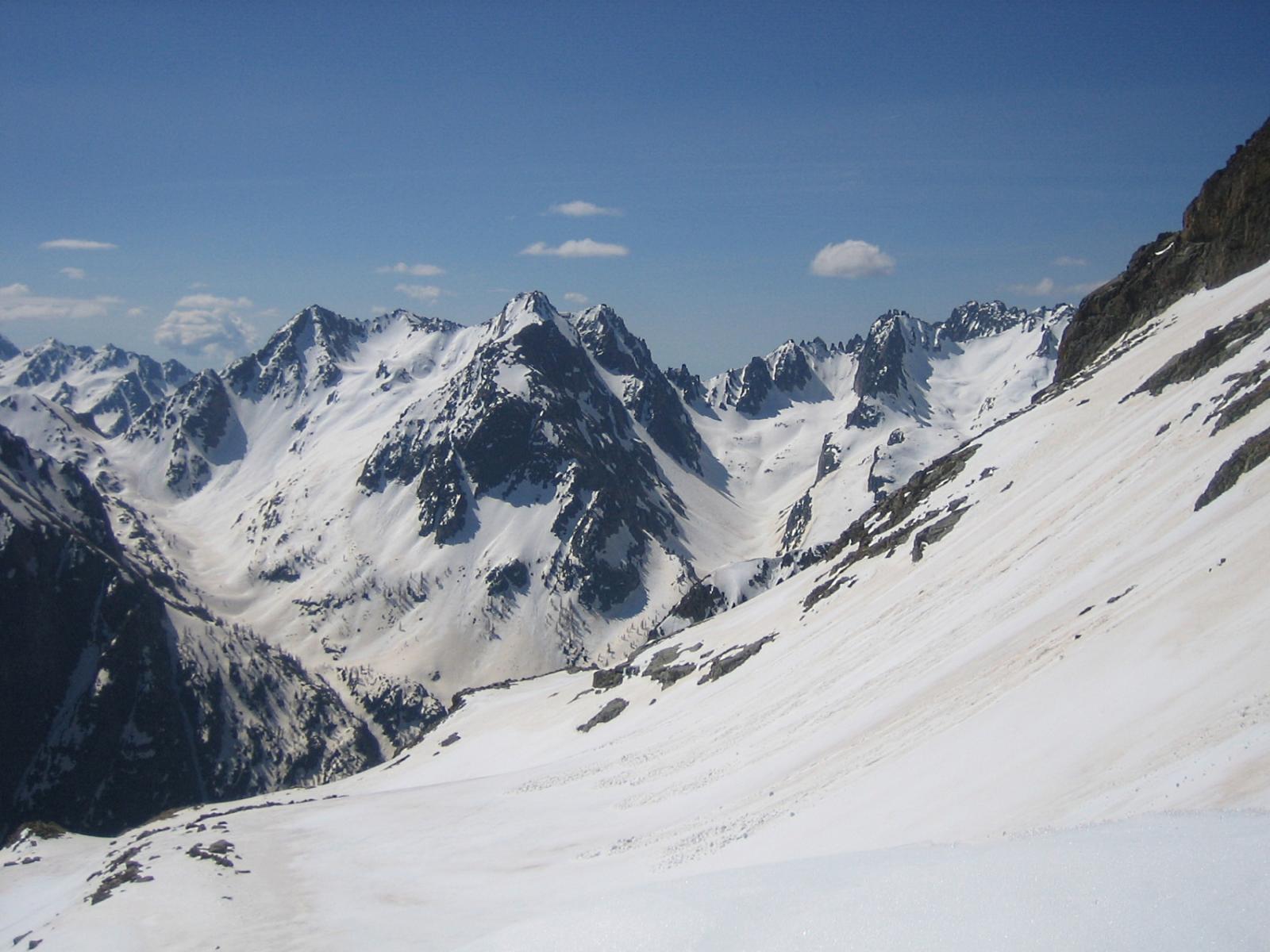 dal colle Sud vista sulla Val Gesso