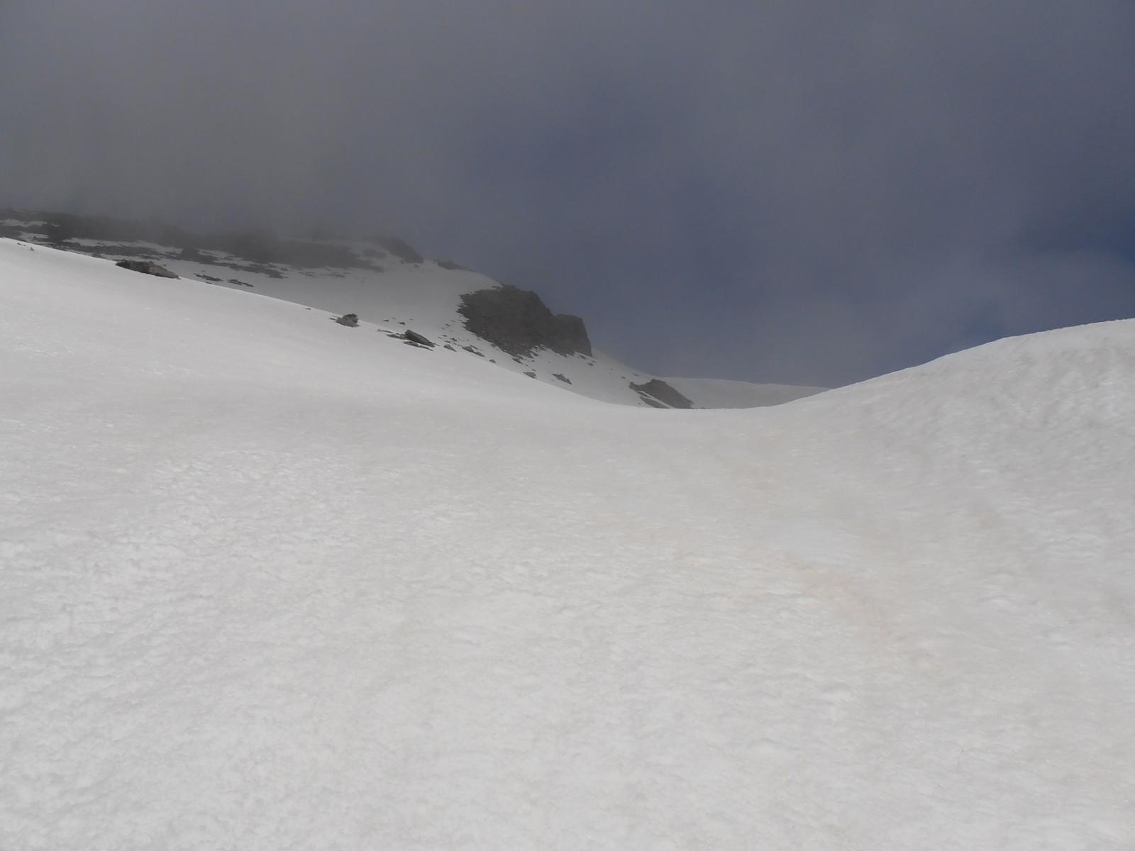 12 - sul breve nevaio tra Cruvin e Lunella