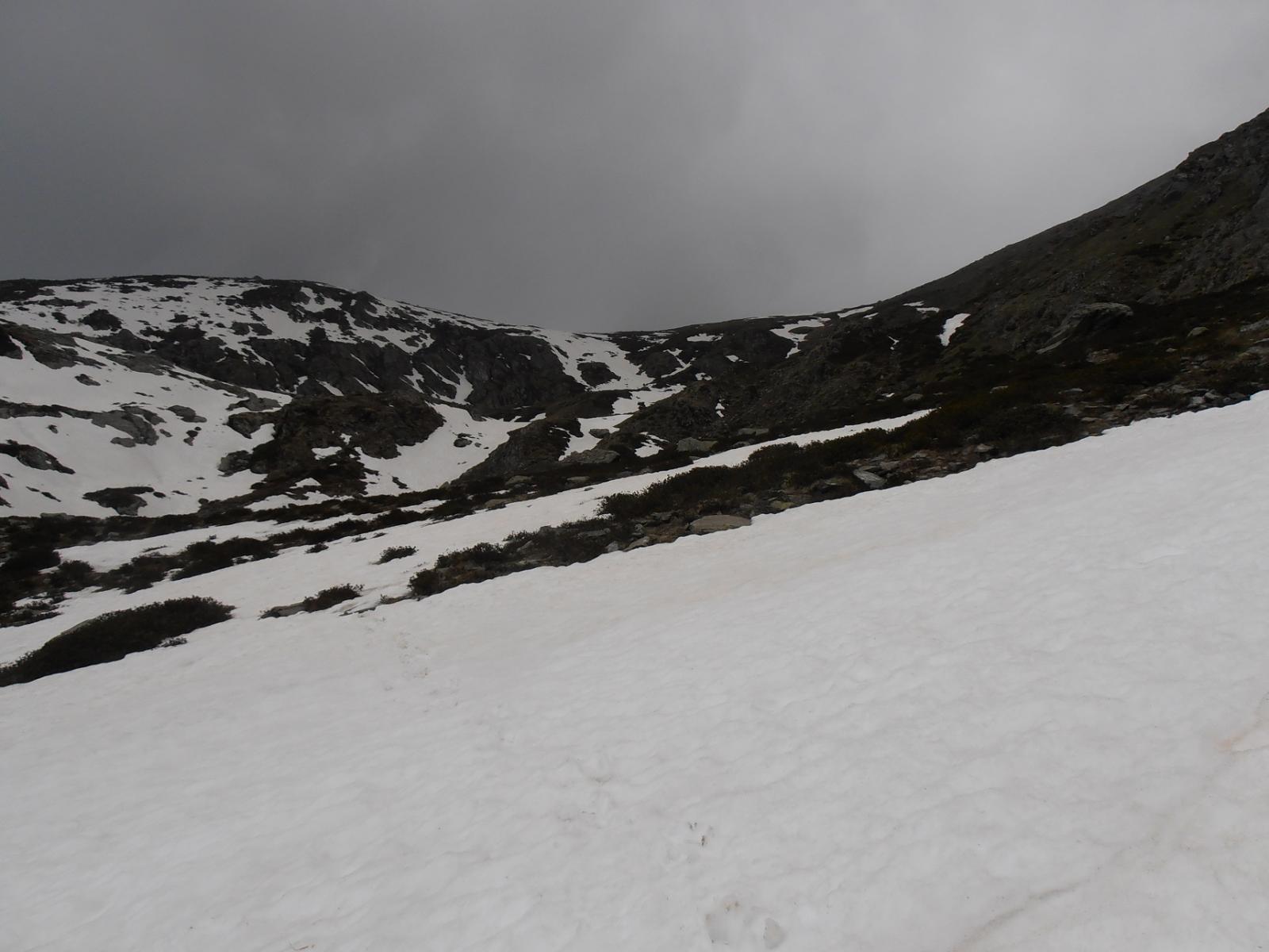 19 - si scende tra nevai marci e rododendri