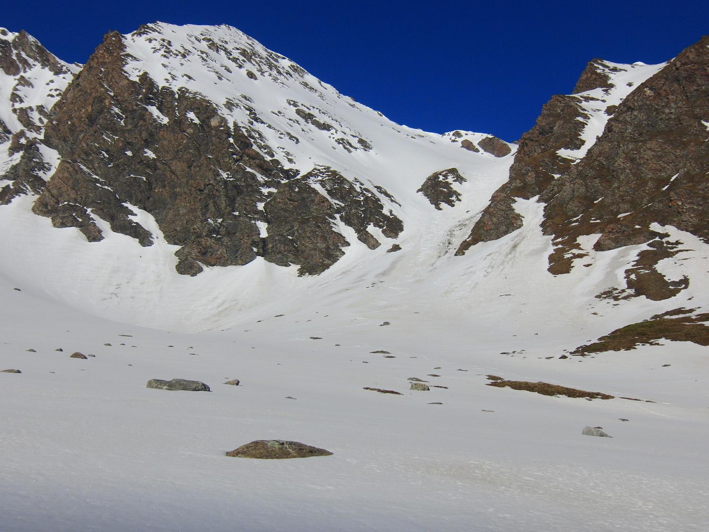Pointe Cugne m. 2.948 e Col des Randouillards m. 2.747