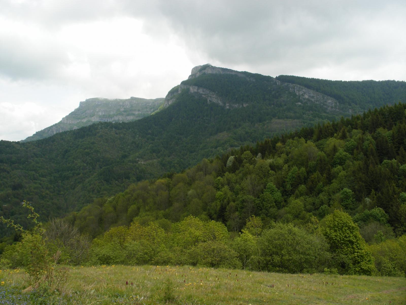 L'Armetta e il Monte della Guardia dal Bric Castagnino