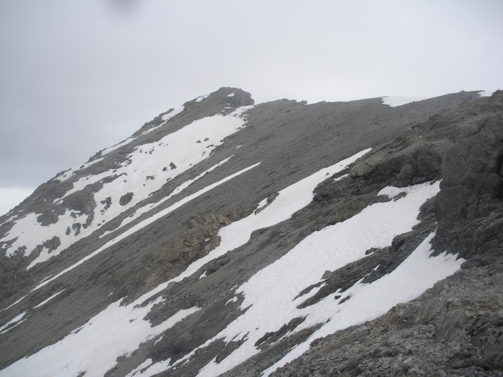 Portare gli sci qui', non conviene ormai piu'..