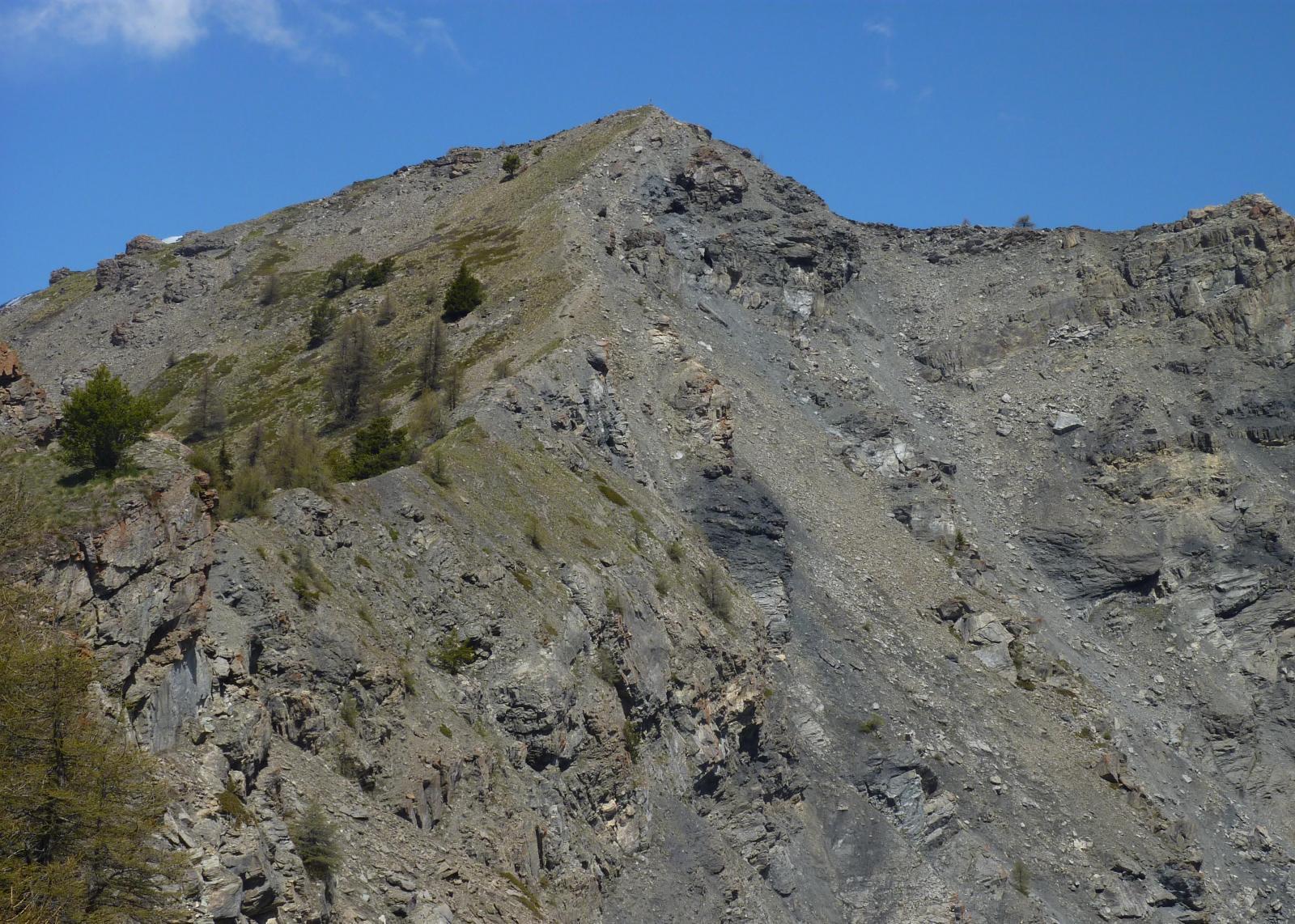 Cresta di salita da Bellon