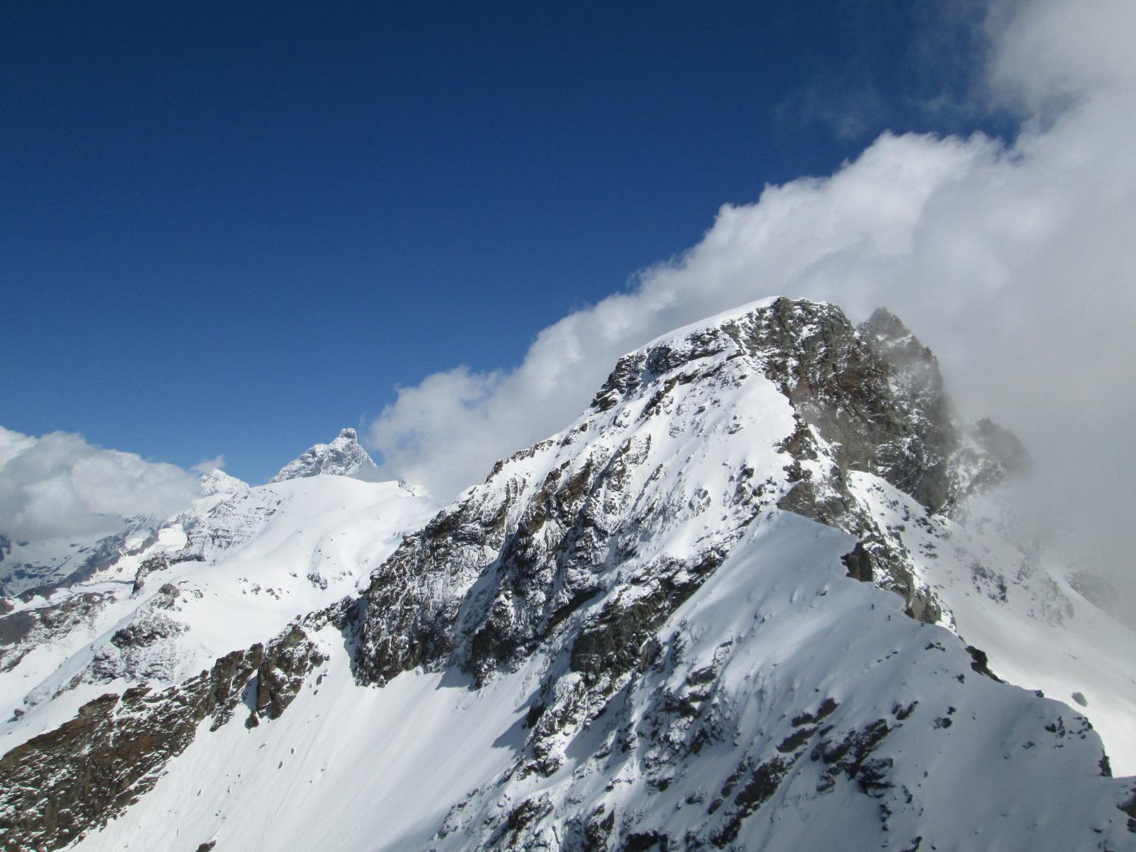 Cervino e Gran Torunalin dalla cima