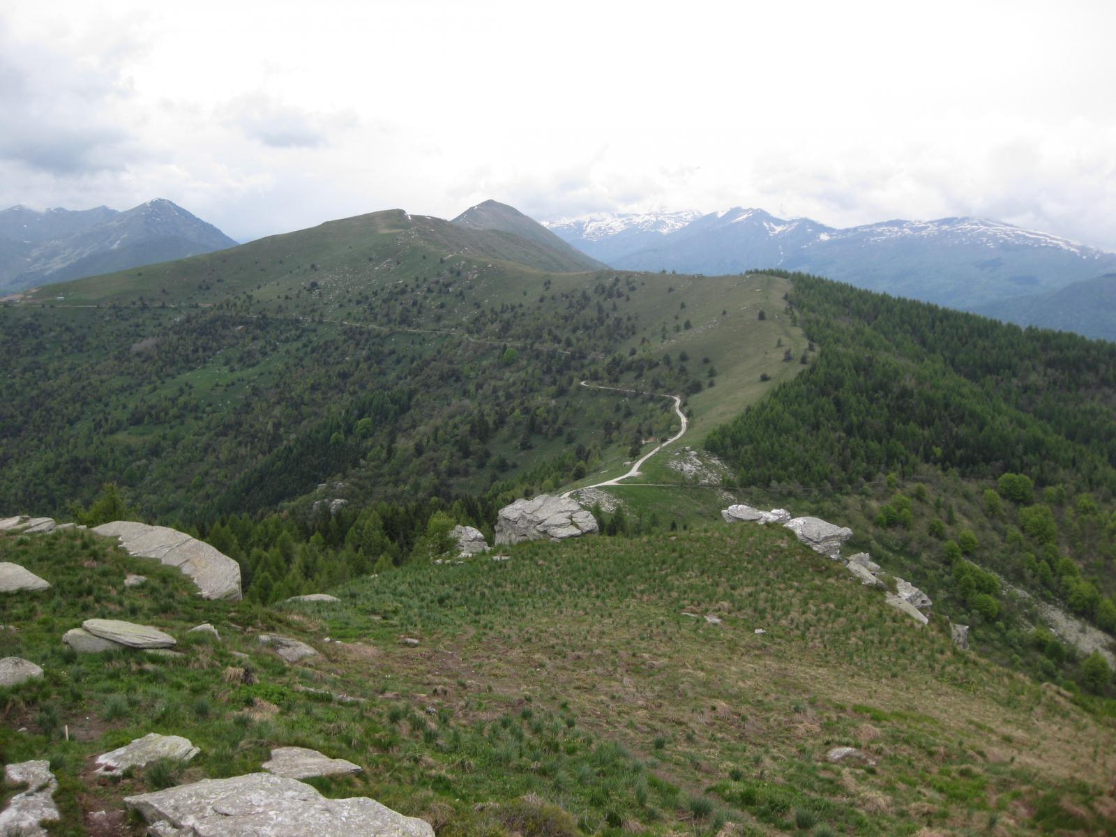 Colle della Ciabra  e  Monte Cornet