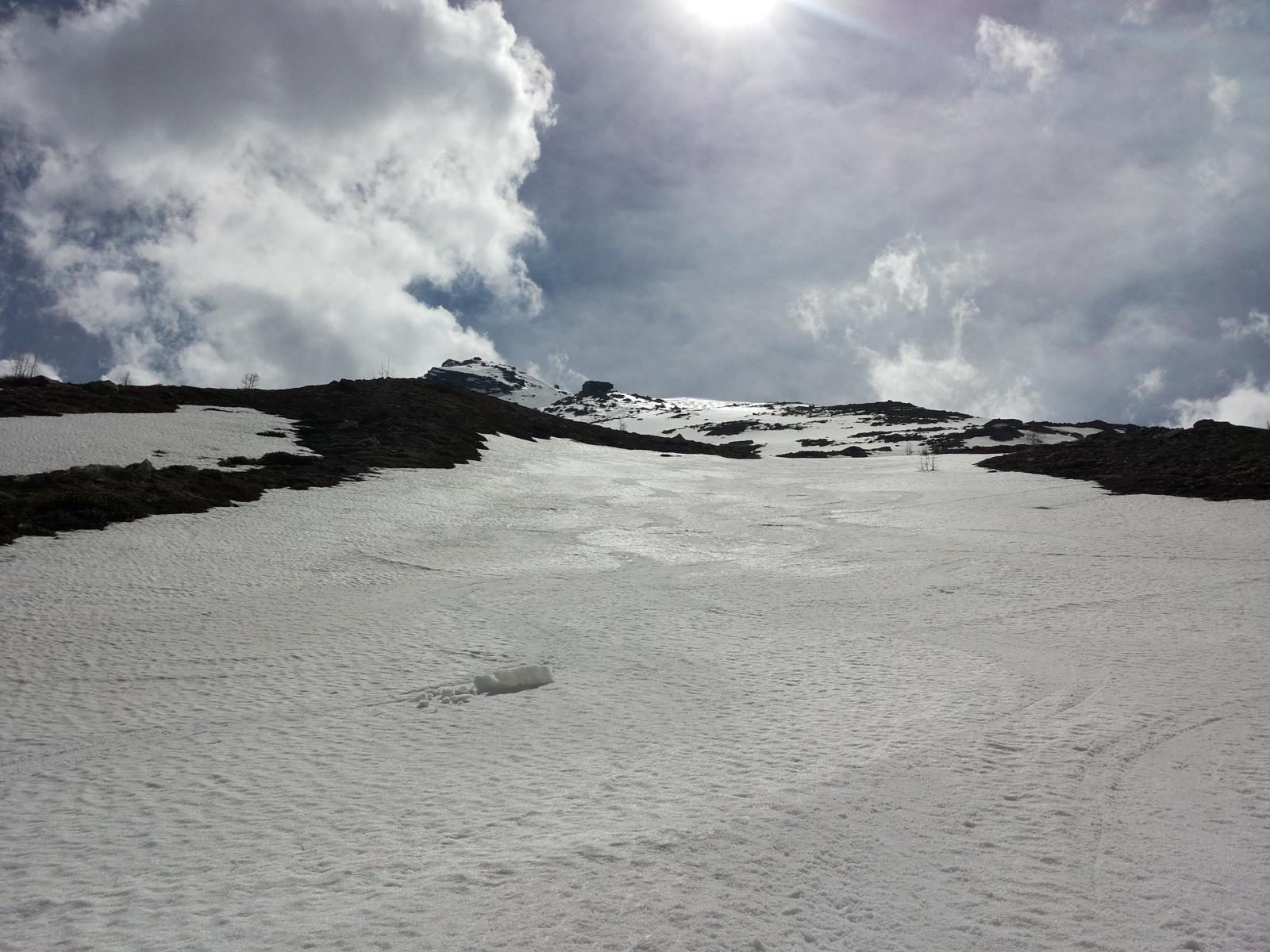 Hubschhorn da Passo del Sempione 2014-05-25
