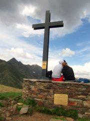 la croce sul Balmit