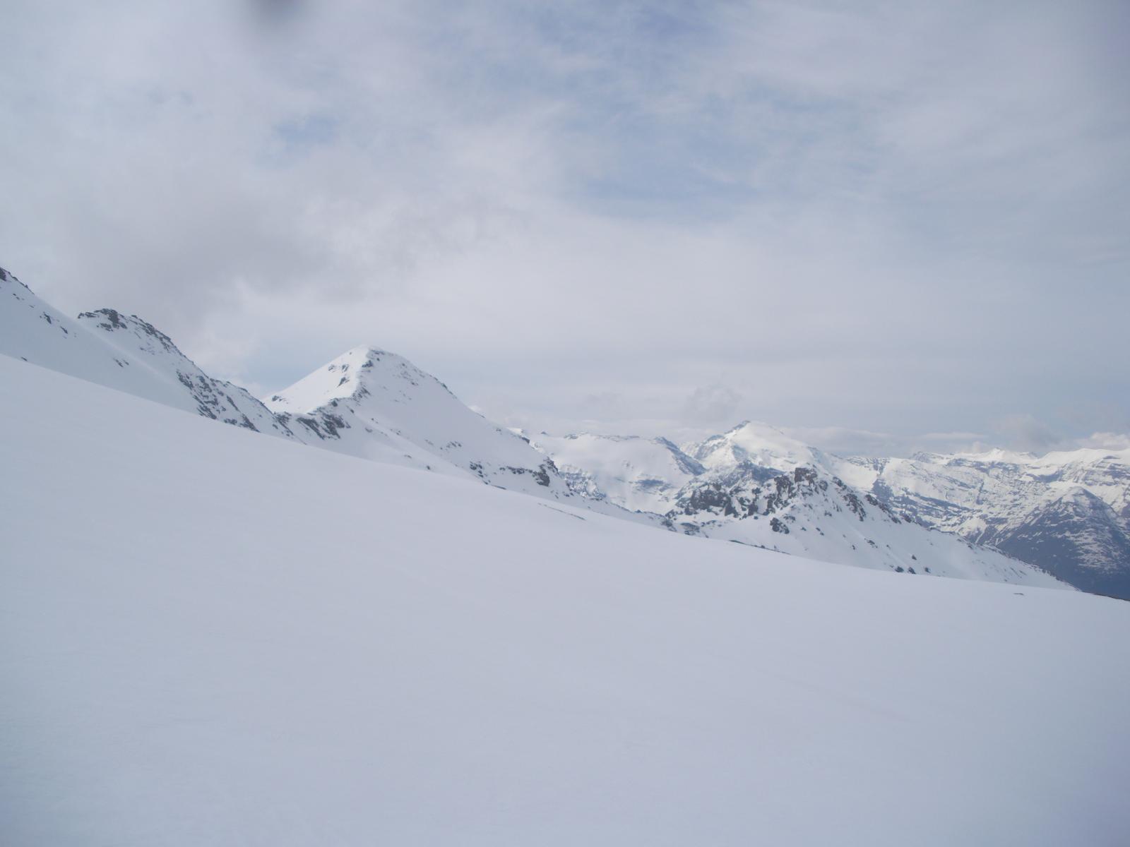L'Ouille Noire dal ghiacciaio di Pissaillas..