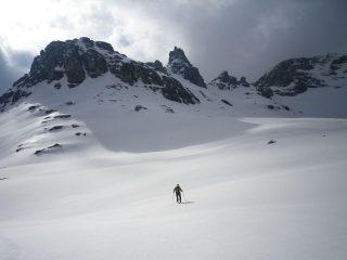 nelle conche dei Lacs Blancs col Grand Cordonnier