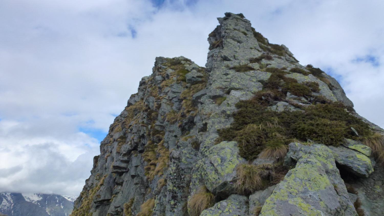cresta e quota 2356m dalla bocchetta del sasset
