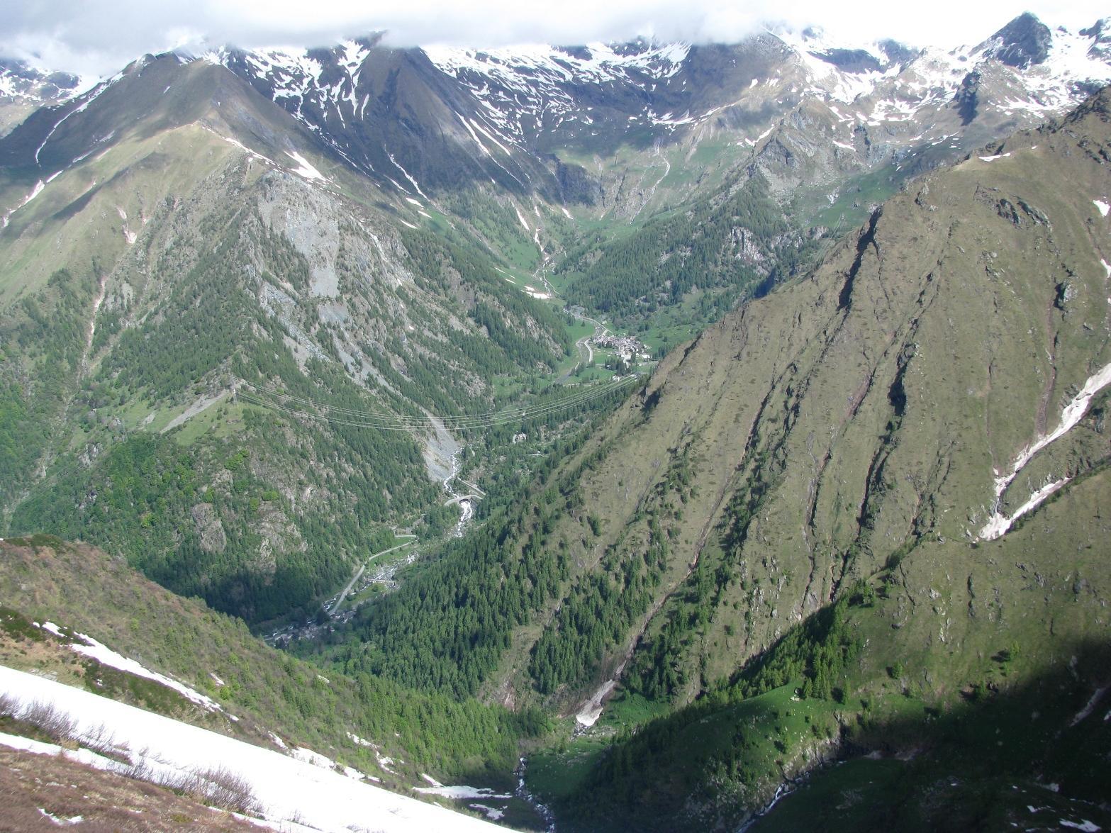Monte Autaret, finalmente il sole nel Vallone di Piamprato