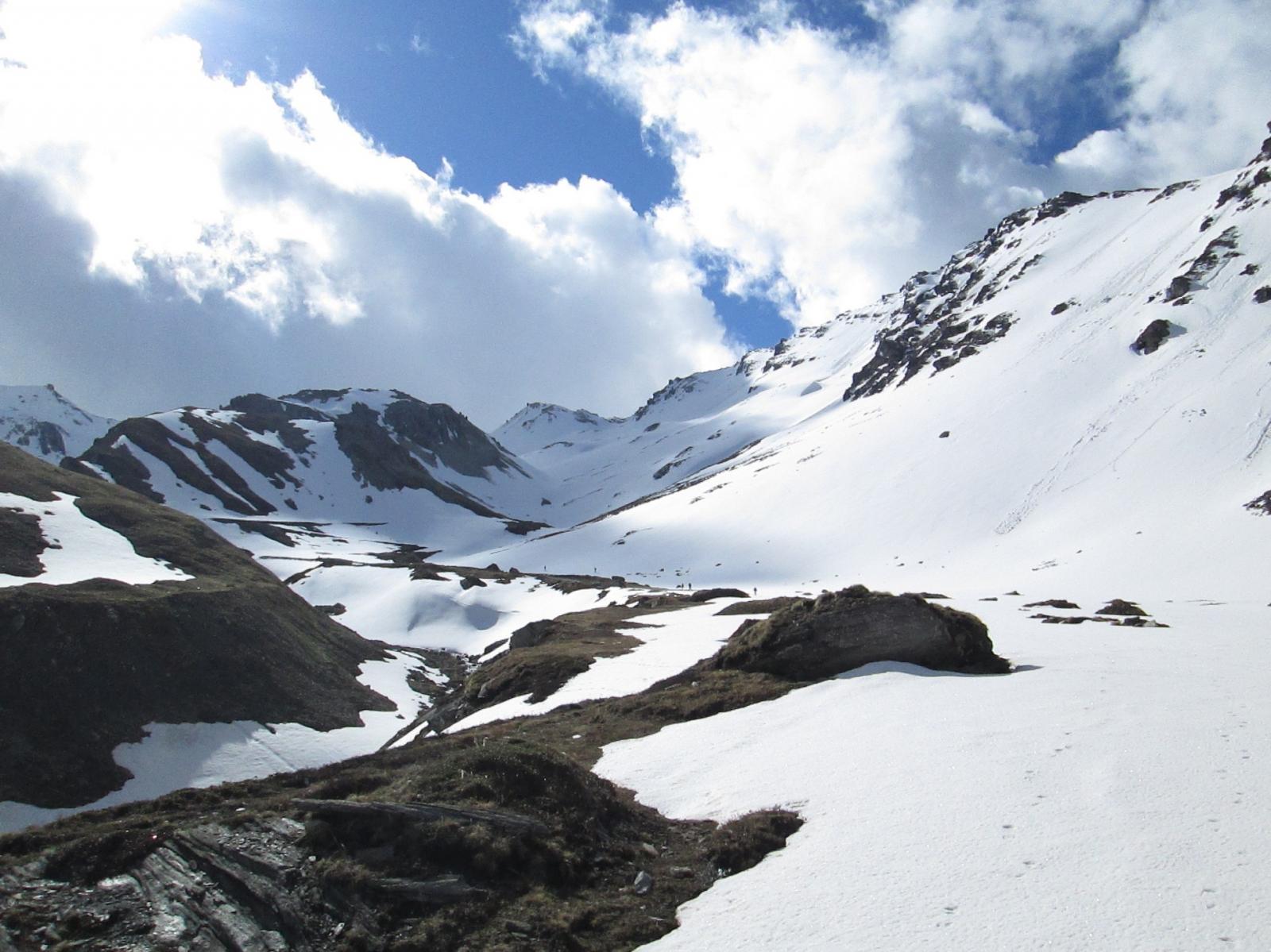 sci ai piedi a quota 2450 metri