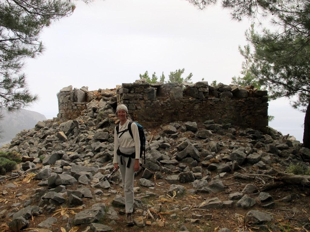 Il forte di q. 620 sopra Aghia Roumeli