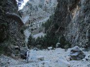 Le impressionanti pareti rocciose