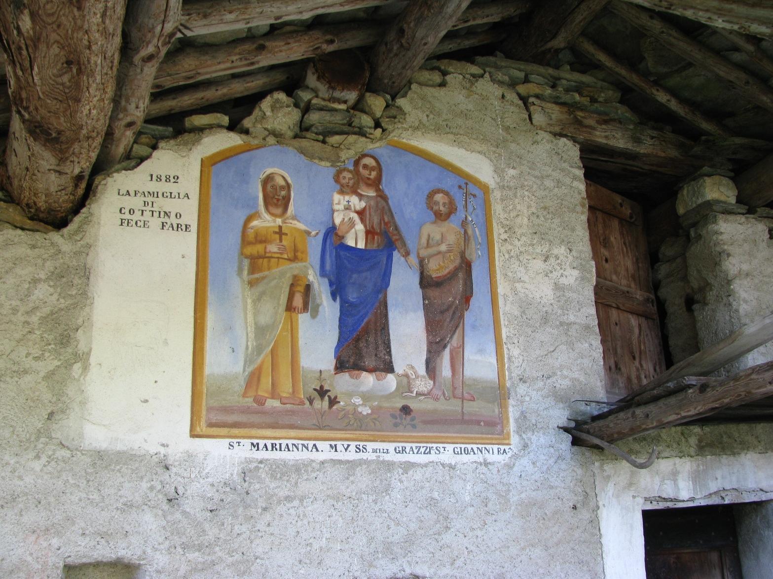 Dipinto a case Palocco vecchio
