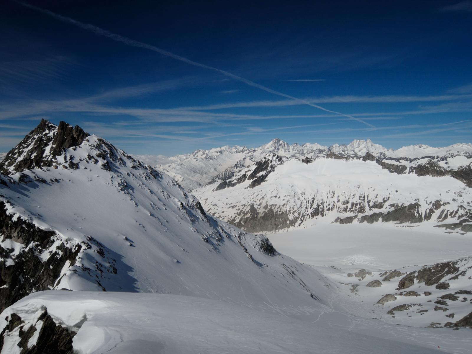 Vista dal Galengletscher