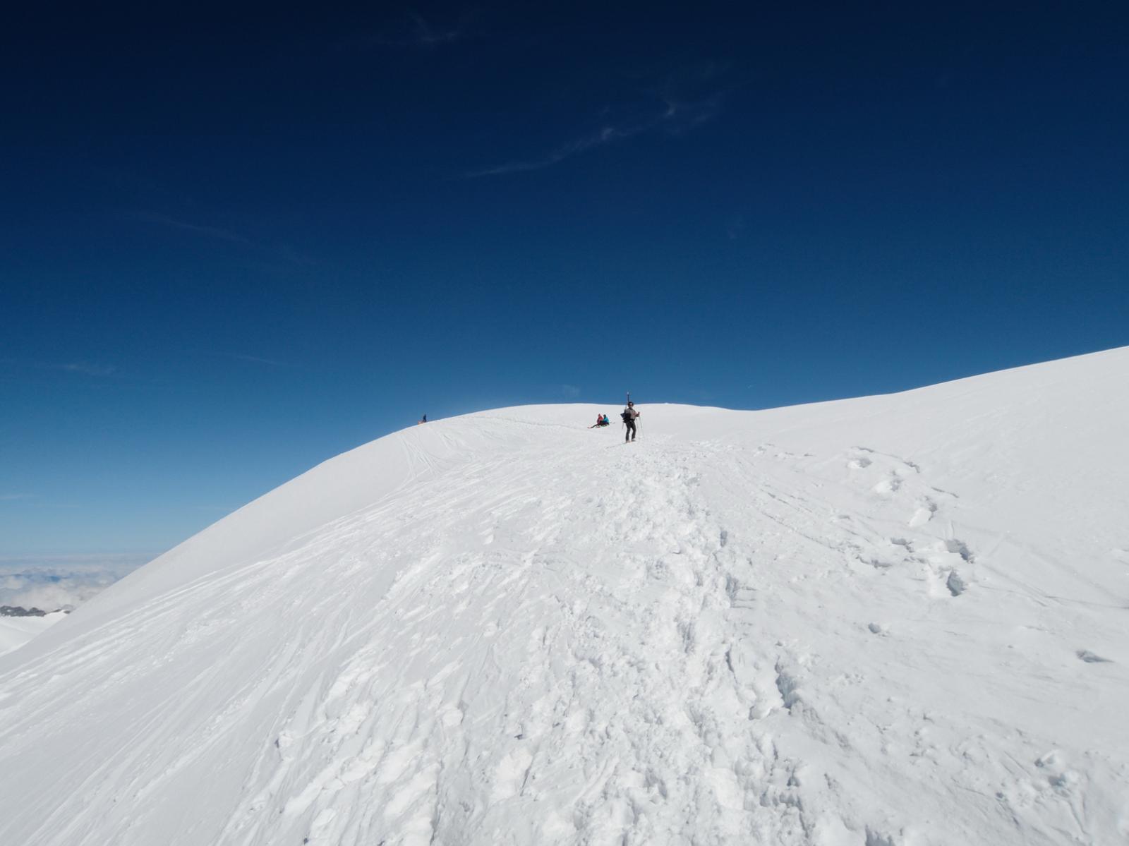 Ultimo tratto di cresta prima della cima
