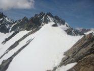 breve traverso esposto tra le 2 cime