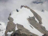 dalla cima alpinistica guardo Simo su quella escursionistica
