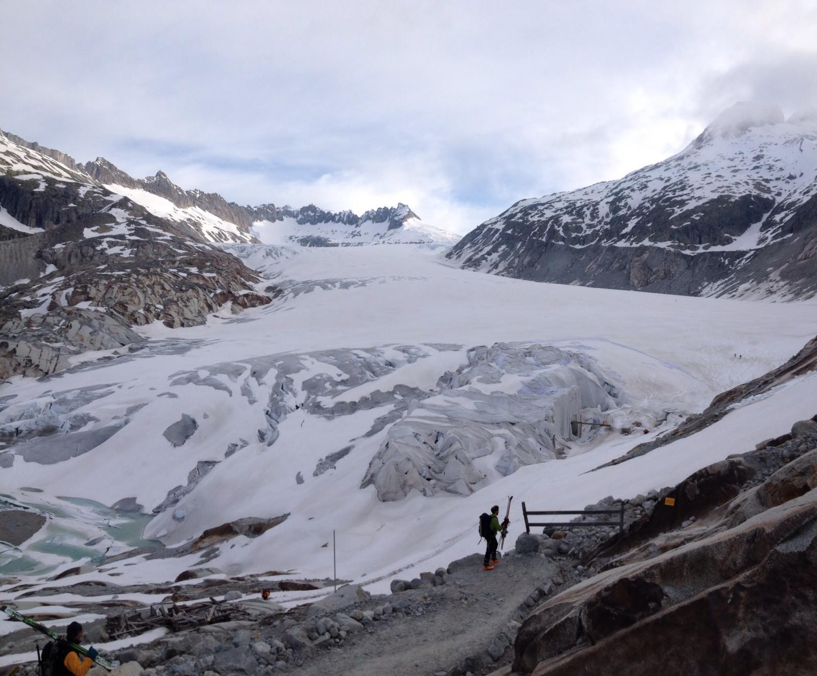 Verso la grotta di ghiaccio