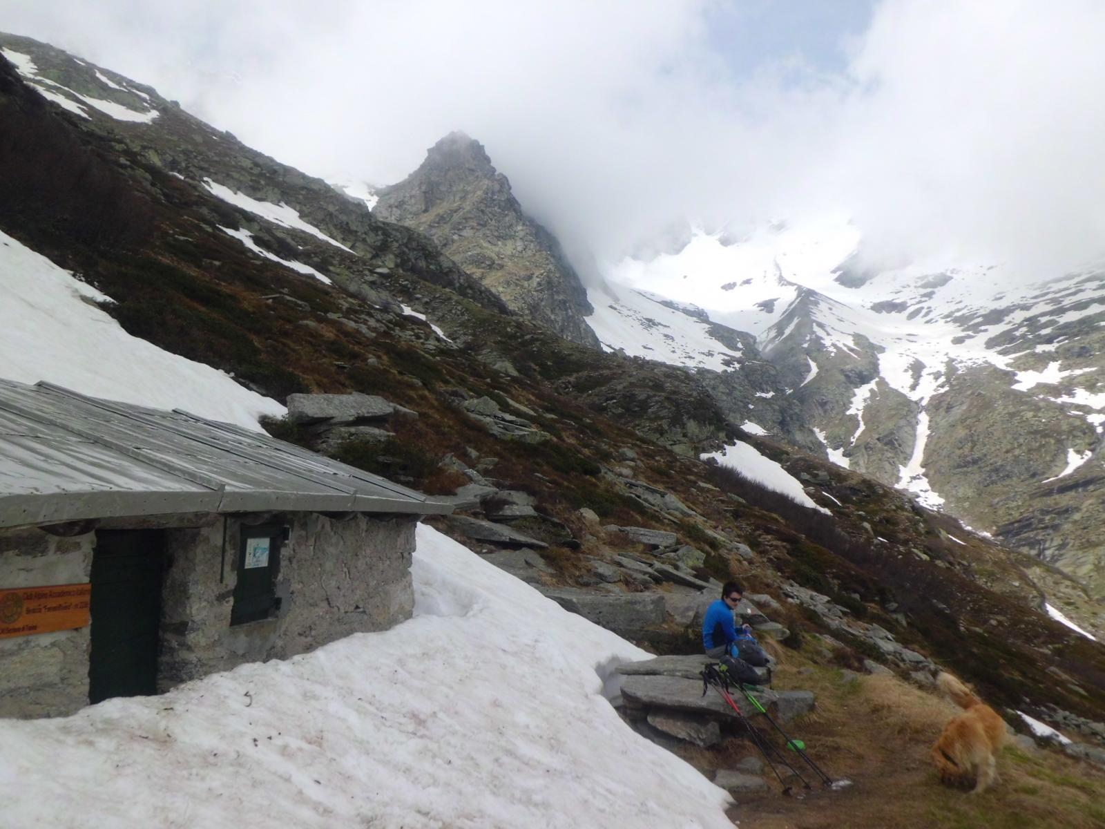 Ferreri - Rivero CAAI (Bivacco) da Forno Alpi Graie per il Vallone di Gura 2014-06-01
