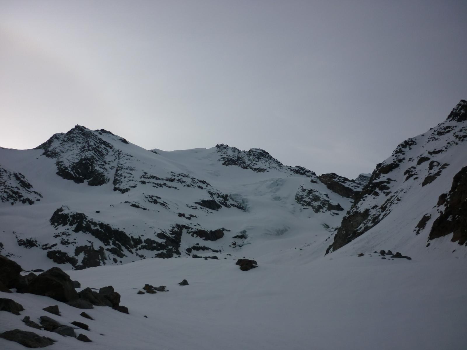 il ghiacciaio in ottime condizioni