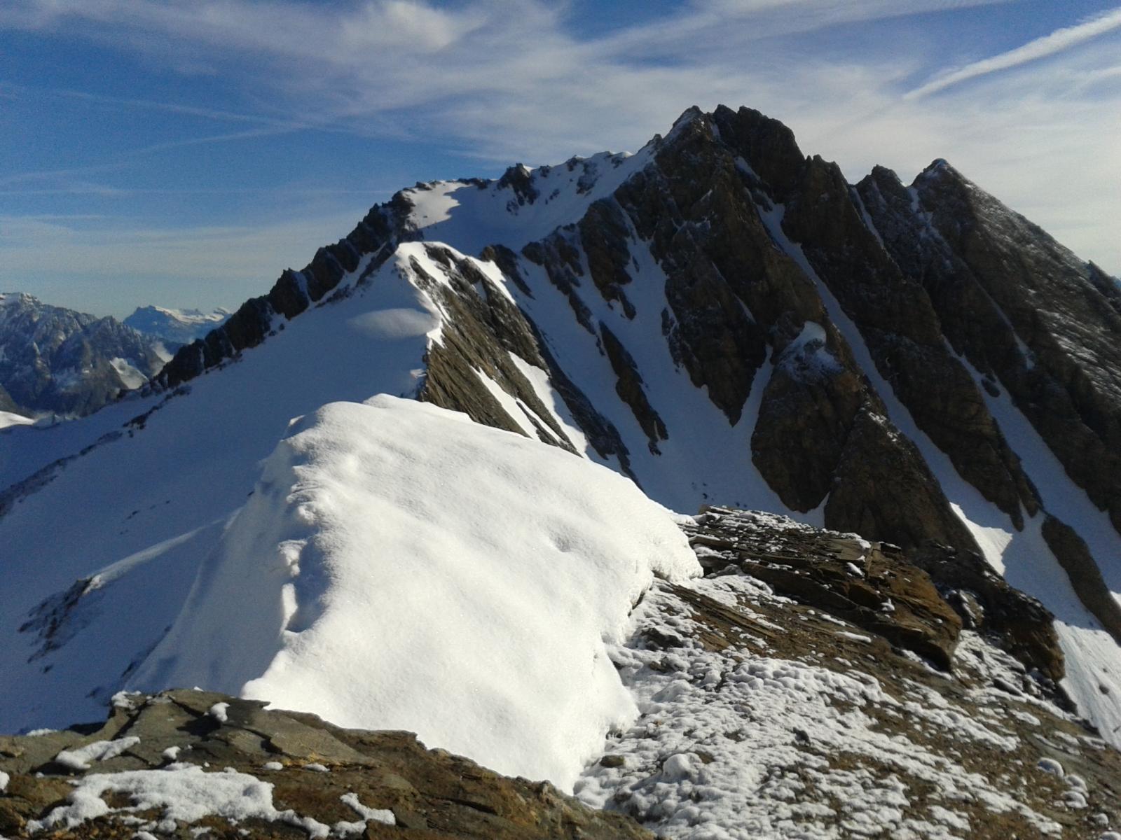 dalla cima vista su petit Golliaz