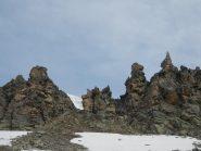 la cresta delle Rocce, una meraviglia