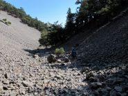 La gola tra Kroussia e Aghios Ioannis