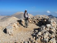 Sul Trocharis, seconda cima per altezza dei Lefka Ori