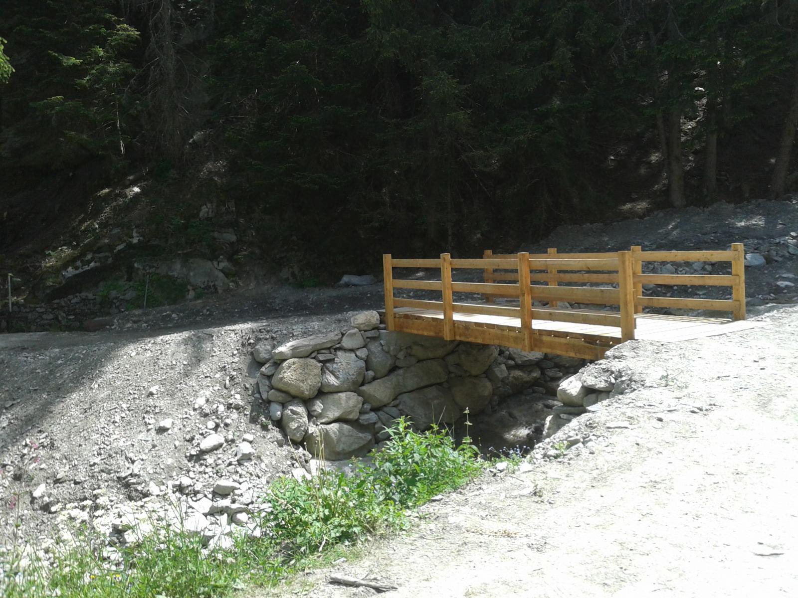 ponte appena rifatto