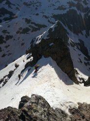 ultimi metri di roccette