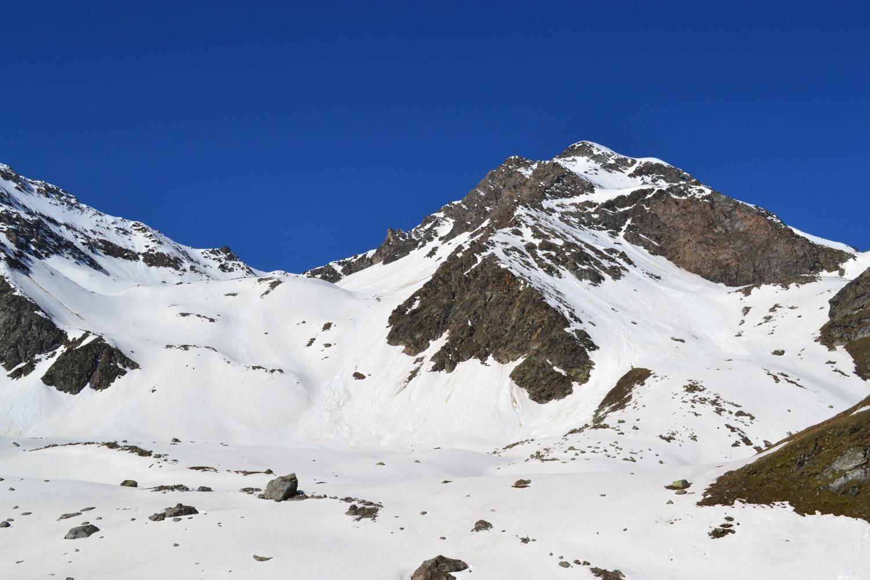 panorama verso il Mattwaldhorn