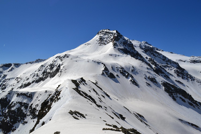 panorama verso il Böshorn dalla vetta