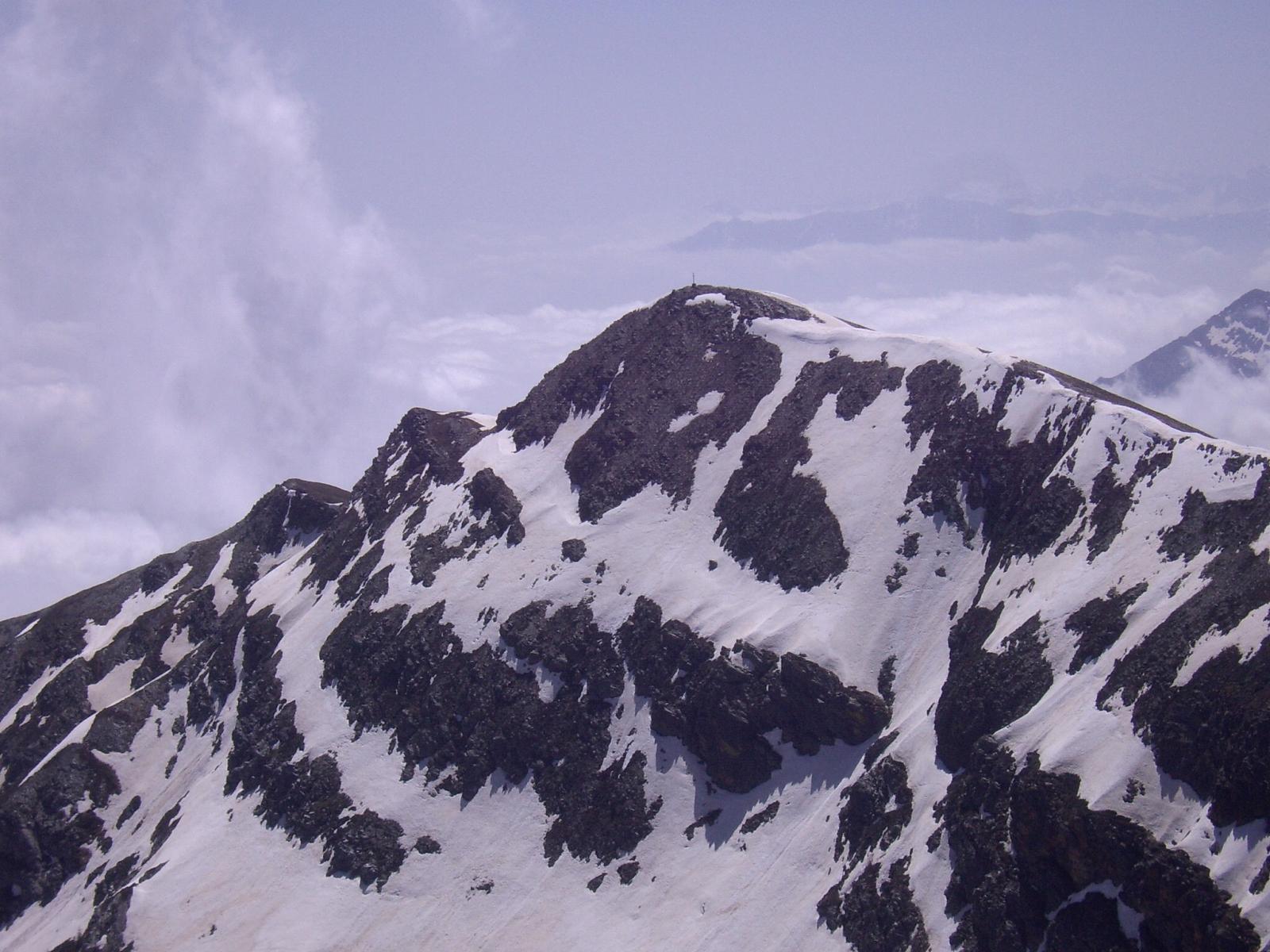 Il Tibert visto dalla Punta Tempesta