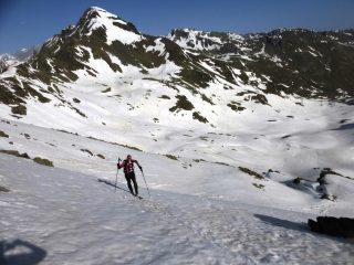 dietro il Mont Mor si vede che ci sono tratti senza neve