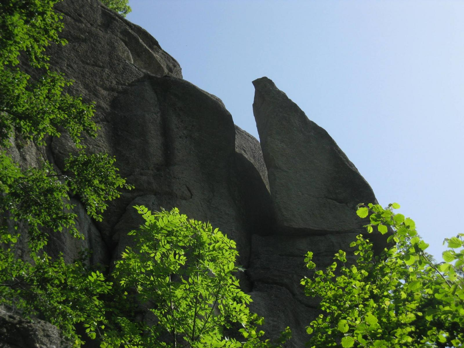 La caratteristica Rocca del Gias