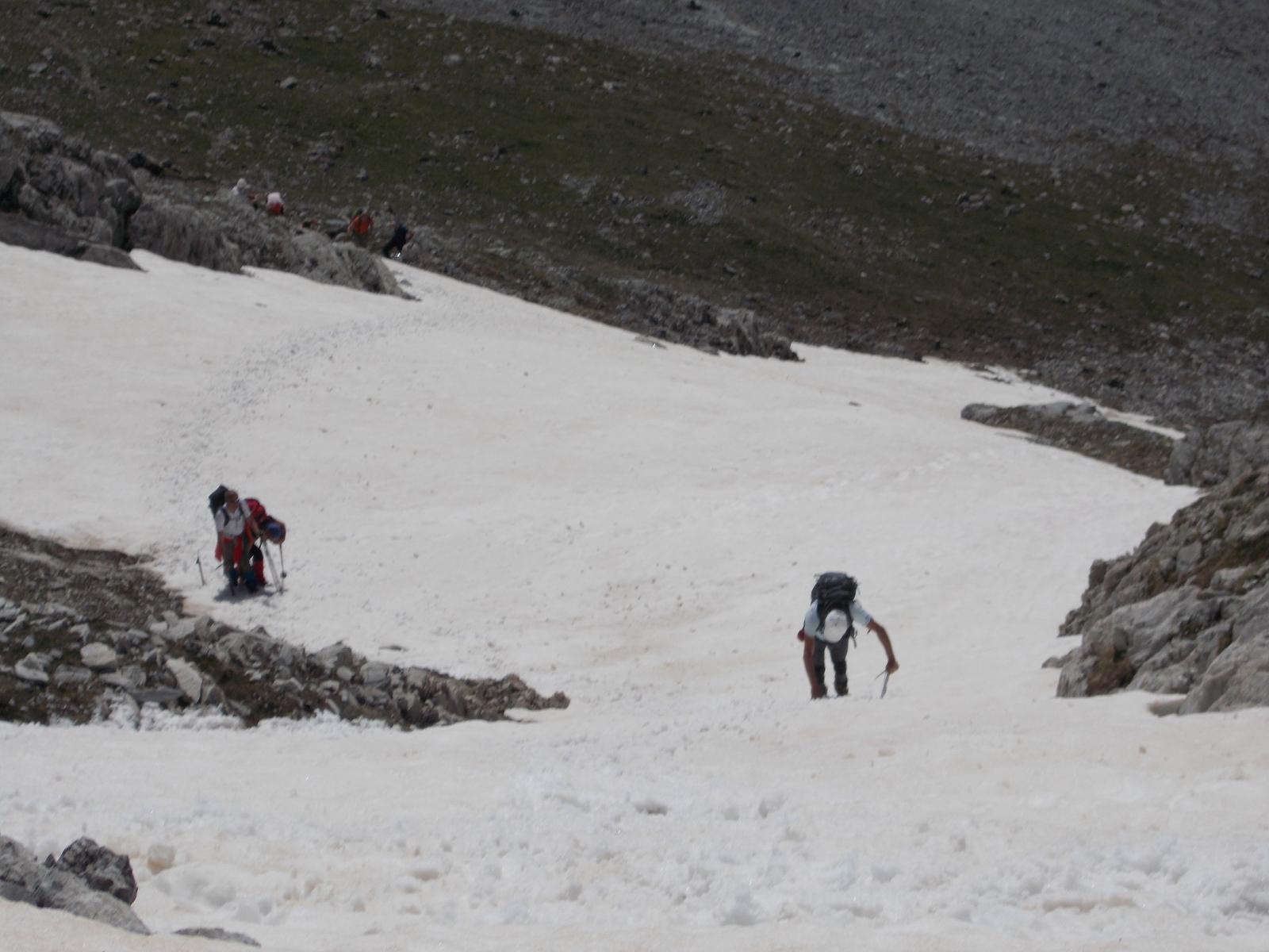 ultimo tratto verso la cima delle Saline