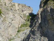 gola dell'Incisa, tra Pietravecchia e Toraggio