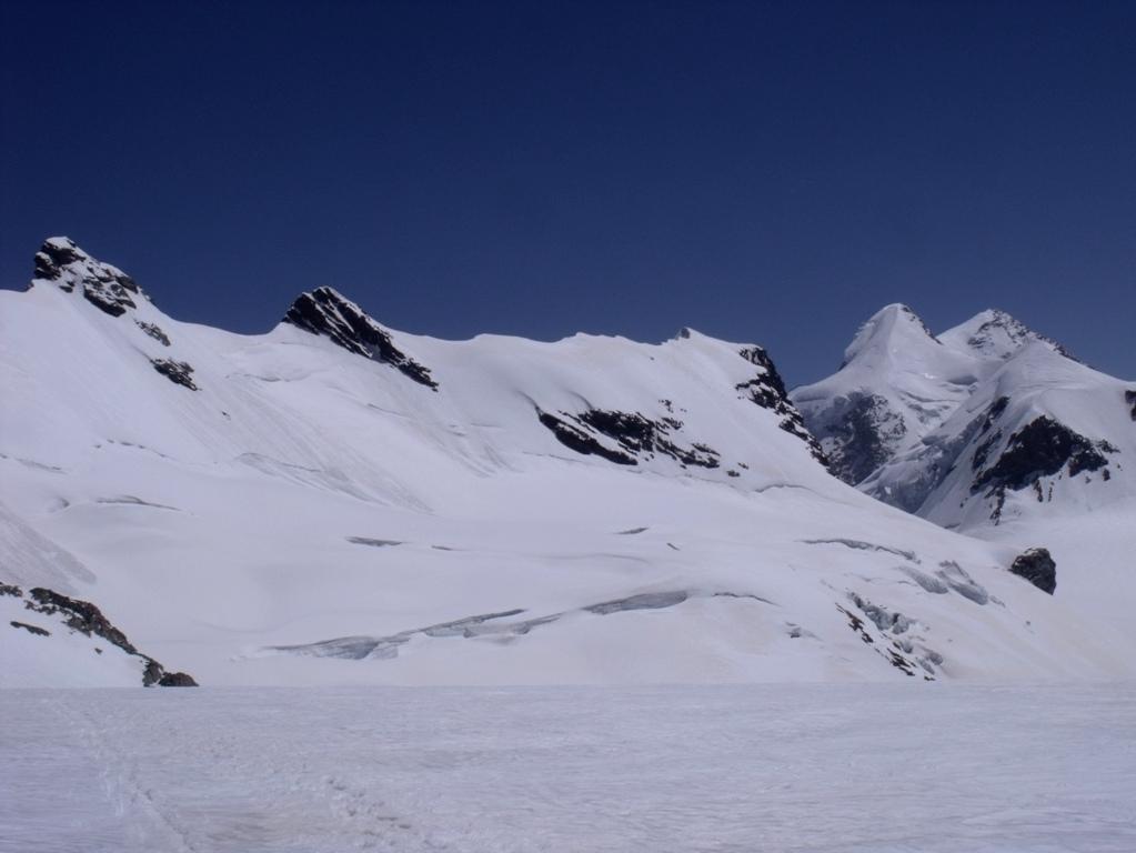 Roccia Nera e Gemello del Breithorn