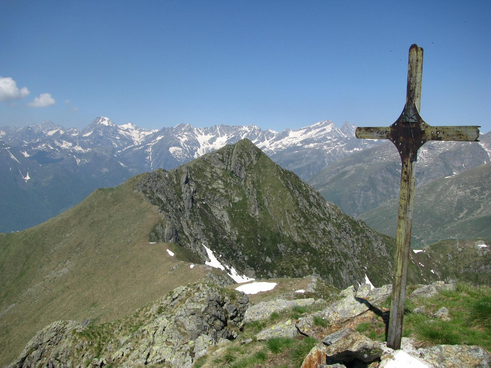 Croce di Punta Marsè, Uja di Bellavarda e le Levanne